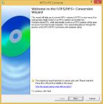 NTFS/HFS+ 转换向导